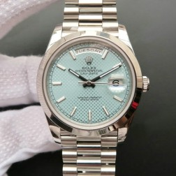 New Best Swiss Made Rolex Day-Date II 228239 Blue HoneyComb Dial 1:1 Mirror Quality SRDD125