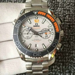AAA Swiss Made Omega Seamaster Planet Ocean Master Chronometer 45.5mm Grey Dial OS121