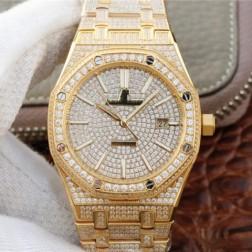New Swiss Automatic Audemars Piguet Royal Oak 15502 1:1 Best Clone Watch 41MM SAP0022