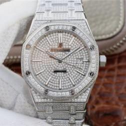 New Swiss Automatic Audemars Piguet Royal Oak 15202 1:1 Best Clone Watch 41MM SAP0024