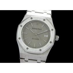 Replica Audemars Piguet Royal Oak Jumbo Men Watch Grey Dial Stainless Steel Case SAPR008