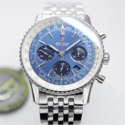 43MM Swiss Made Automatic New Breitling Navitimer B01 Best Replica Watch SBRE0003