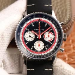 43MM Swiss Made Automatic New Breitling Navitimer B01 Best Replica Watch SBRE0011