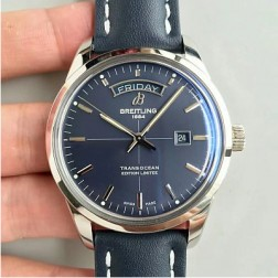 43MM Swiss Made Automatic New Breitling TRANSOCEAN Best Replica Watch SBRE0033