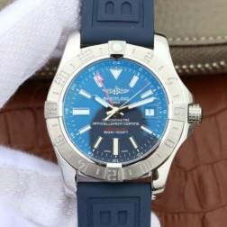 43MM Swiss Made Automatic New Breitling Avenger II GMT Best Replica Watch SBRE0042