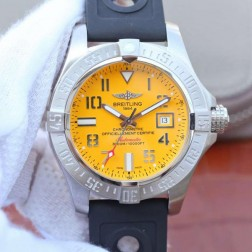45MM Swiss Made Automatic New Breitling Avenger II Seawolf Best Replica Watch SBRE0044