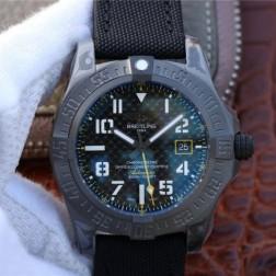 45MM Swiss Made Automatic New Breitling Avenger Blackbird Best Replica Watch SBRE0045