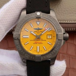 45MM Swiss Made Automatic New Breitling Avenger II Seawolf Best Replica Watch SBRE0046