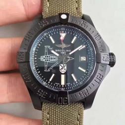 45MM Swiss Made Automatic New Breitling Avenger II Seawolf Best Replica Watch SBRE0049