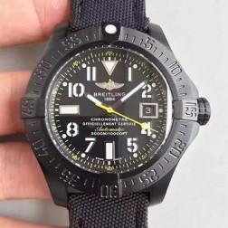45MM Swiss Made Automatic New Breitling Avenger II Seawolf Best Replica Watch SBRE0050