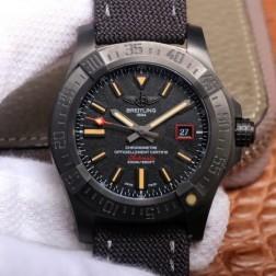 44MM Swiss Made Automatic New Breitling Avenger Blackbird Best Replica Watch SBRE0052