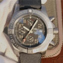 45MM Swiss Made Automatic New Breitling Avenger Bandit Best Replica Watch SBRE0056
