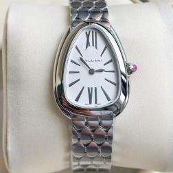 33MM Swiss Made Quartz New Bvlgari Serpenti Seduttori Ladies Best Clone Watch SBV0004