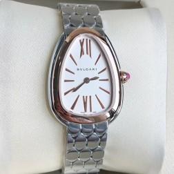 33MM Swiss Made Quartz New Bvlgari Serpenti Seduttori Ladies Best Clone Watch SBV0005