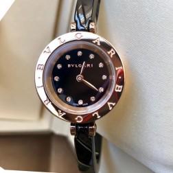 23MM Swiss Made Quartz New Ceramic Bvlgari Zero1 Ladies Best Clone Watch SBV0006
