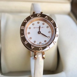 23MM Swiss Made Quartz New Ceramic Bvlgari Zero1 Ladies Best Clone Watch SBV0007