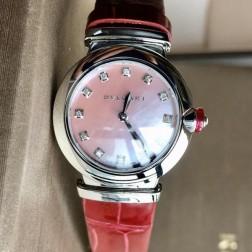 28MM Swiss Made Quartz New Bvlgari LVCEA Ladies Best Clone Watch SBV0009