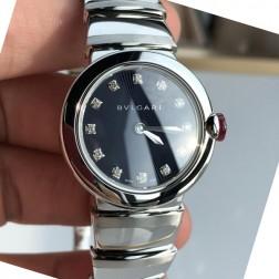 28MM Swiss Made Quartz New Bvlgari LVCEA Ladies Best Clone Watch SBV0010