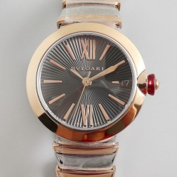 33MM Swiss Made Quartz New Bvlgari LVCEA Ladies Best Clone Watch SBV0019