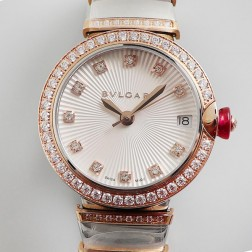 33MM Swiss Made Quartz New Bvlgari LVCEA Ladies Best Clone Watch SBV0022