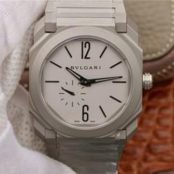 41MM Swiss Made Automatic New Bvlgari OCTO Best Clone Titanium Watch SBV0026