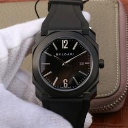 41MM Swiss Made Automatic New Bvlgari OCTO Best Clone Titanium Watch SBV0029