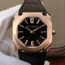 41MM Swiss Made Automatic New Bvlgari OCTO Best Clone Titanium Watch SBV0030