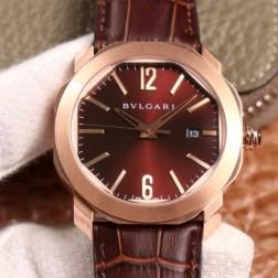 41MM Swiss Made Automatic New Bvlgari OCTO Best Clone Titanium Watch SBV0031