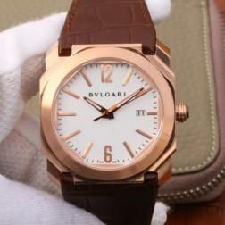 41MM Swiss Made Automatic New Bvlgari OCTO Best Clone Titanium Watch SBV0032