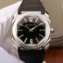 41MM Swiss Made Automatic New Bvlgari OCTO Best Clone Titanium Watch SBV0035