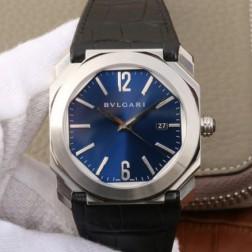 41MM Swiss Made Automatic New Bvlgari OCTO Best Clone Titanium Watch SBV0036