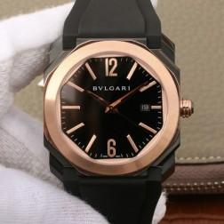 41MM Swiss Made Automatic New Bvlgari OCTO Best Clone Titanium Watch SBV0037