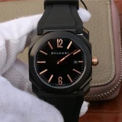 41MM Swiss Made Automatic New Bvlgari OCTO Best Clone Titanium Watch SBV0038