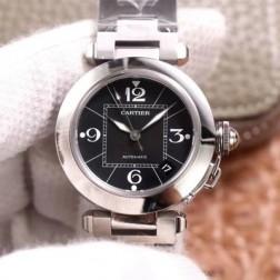New Swiss Made Automatic Pasha de Cartier W31076M7 1:1 Best Replica Ladies Watch 32.35MM SCA0003