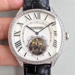 New Swiss Made Automatic Drive de Cartier W4100013 1:1 Best Replica Watch 40MM SCA0006