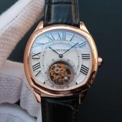 New Swiss Made Automatic Drive de Cartier W4100013 1:1 Best Replica Watch 40MM SCA0007