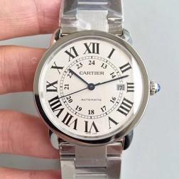 New Swiss Made Automatic RONDE SOLO DE Cartier W670101 1:1 Best Replica Watch 42MM SCA0015