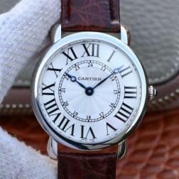 New Swiss Made Automatic RONDE LOUIS DE Cartier 1:1 Best Replica Watch 40MM SCA0016