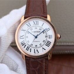 New Swiss Made Automatic RONDE SOLO DE Cartier W6701009 1:1 Best Replica Watch 42MM SCA0017
