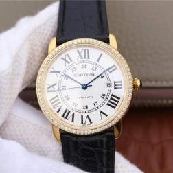 New Swiss Made Automatic RONDE SOLO DE Cartier WR000451 1:1 Best Replica Watch 42MM SCA0019