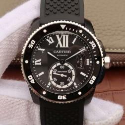 New Swiss Made Automatic CALIBRE DE Cartier WSCA0006 1:1 Best Replica Watch 42MM SCA0021