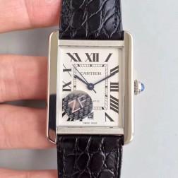 New Swiss Made Automatic TANK DE Cartier W5200027 1:1 Best Replica Watch 31x40.85mm SCA0035
