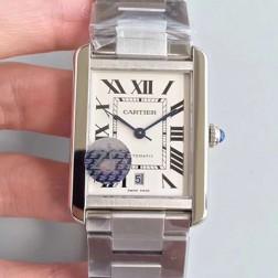 New Swiss Made Automatic TANK DE Cartier W5200028 1:1 Best Replica Watch 31x40.85mm SCA0036