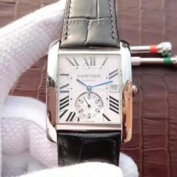 New Swiss Made Automatic TANK DE Cartier W5330003 1:1 Best Replica Watch 34x44mm SCA0042