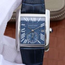 New Swiss Made Automatic TANK DE Cartier WSTA0010 1:1 Best Replica Watch 34x44mm SCA0043