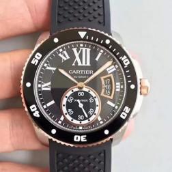 New Swiss Made Automatic CALIBRE DE Cartier W7100055 1:1 Best Replica Watch 42MM SCA0045