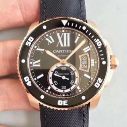 New Swiss Made Automatic CALIBRE DE Cartier W7100052 1:1 Best Replica Watch 42MM SCA0046
