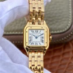 New Swiss Made Quartz PANTHERE de Cartier 1:1 Best Replica Ladies Watch 22MM/27MM SCA0049