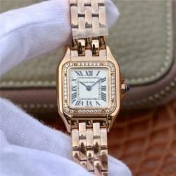 New Swiss Made Quartz PANTHERE de Cartier 1:1 Best Replica Ladies Watch 22MM/27MM SCA0050