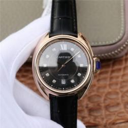 New Swiss Made Automatic Cle de Cartier WJCL0032 1:1 Best Replica Watch 40MM/35MM SCA0051